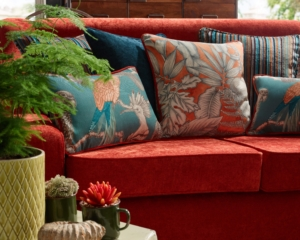 Roman Blinds and Matching Cushions from Karida Living